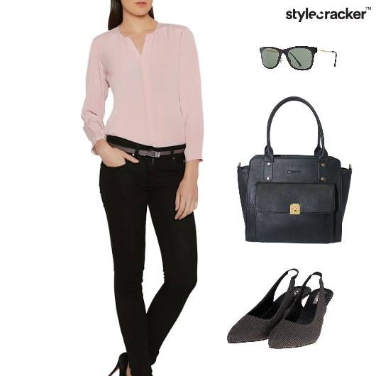 Blouse Shirt Work Meeting SemiFormal - StyleCracker