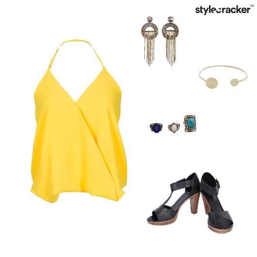 Halter Neck Night Party Casual - StyleCracker