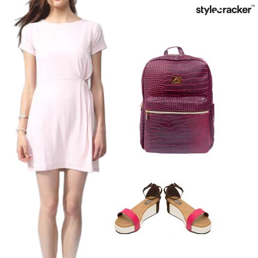 Casual Dress Backpack Sandals Work - StyleCracker