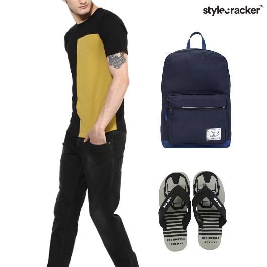 Tshirt Pants Casual College Basics - StyleCracker
