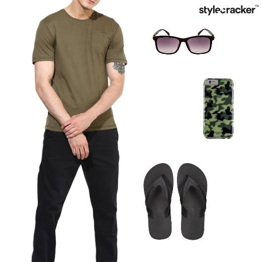 Military Casual Basics College Outdoor - StyleCracker