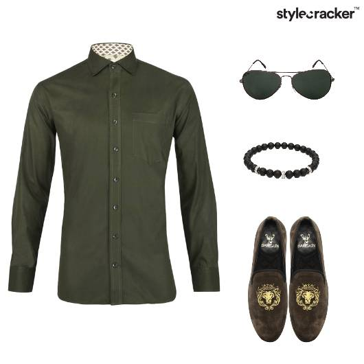 Military Green Shirt DeckedUp Shirt  - StyleCracker