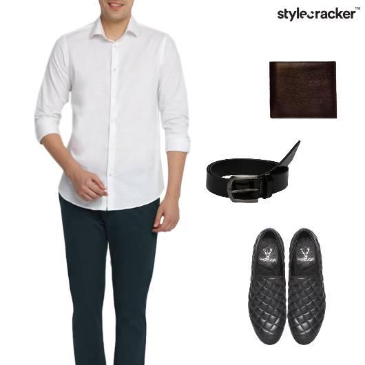 Shirt Chinos Weekday Work - StyleCracker