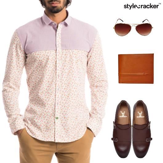 FloralPrint Shirt Work Weekday Quirky - StyleCracker
