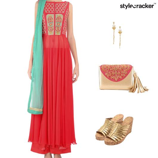 Indian Festive Ethnic Clutch Wedding - StyleCracker