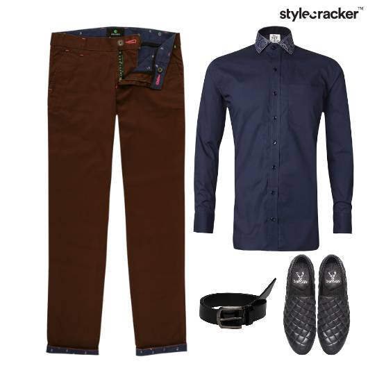 Shirt Chinos SlipOn Lunch Work - StyleCracker
