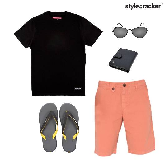 Casual TShirt FlipFlop Weekend Comfort - StyleCracker
