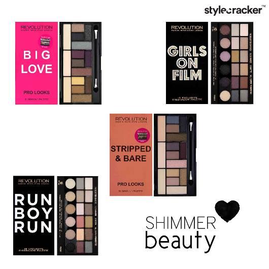 Eyeshadow Palette Shimmer beauty - StyleCracker