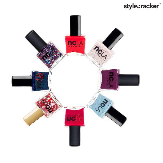 naillacquer popcolorsShine Glitter Hearts - StyleCracker