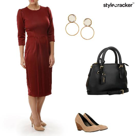 Dress Handbag Pumps Hoops Work - StyleCracker