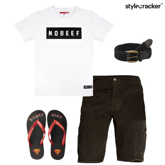 Tshirt Shorts Casual AroundTown - StyleCracker