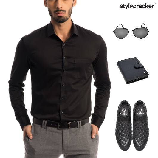 Shirt Chinos SlipOn Footwear Dinner - StyleCracker