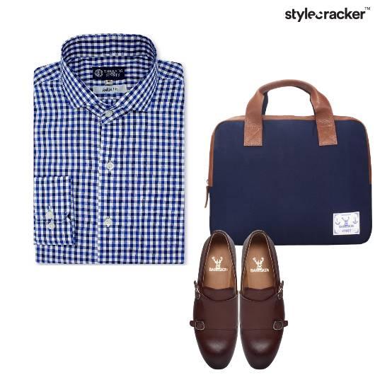 Checks Shirt Work Weekday - StyleCracker