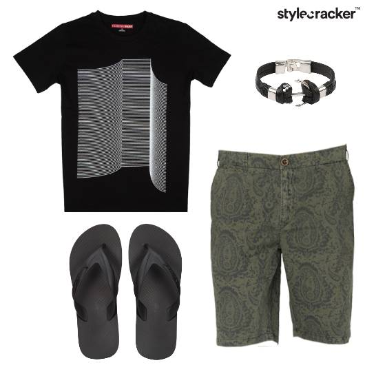 Tshrit Short Casual Basics - StyleCracker