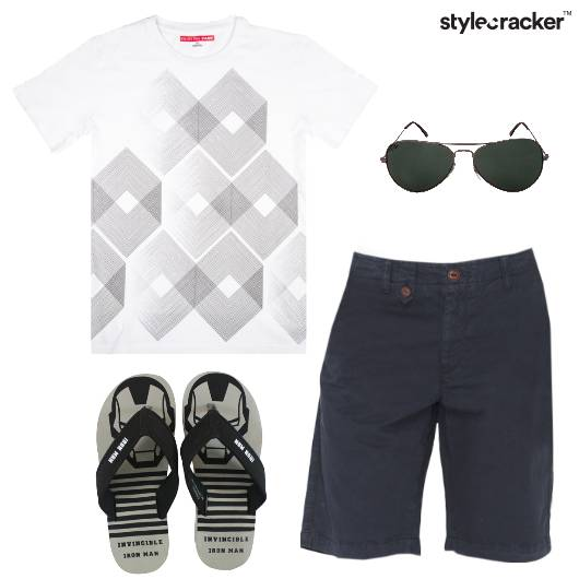 Tshirt Shorts Casual Basics - StyleCracker