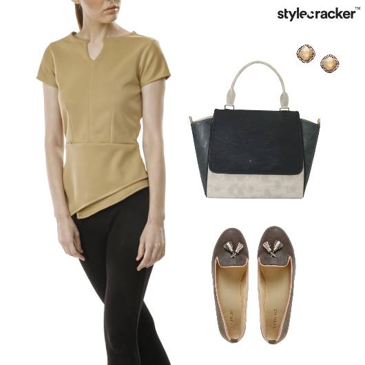 PeplumTop Pants Work Weekdays - StyleCracker