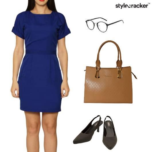 Shift Dress Basics Work WeekDays - StyleCracker