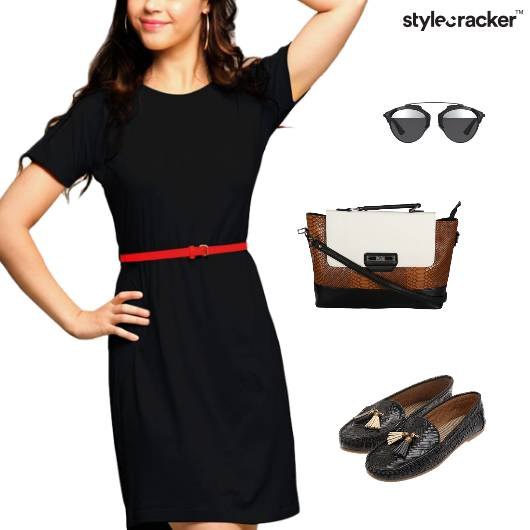 Casual Dress Crossbody Bag Lunch - StyleCracker