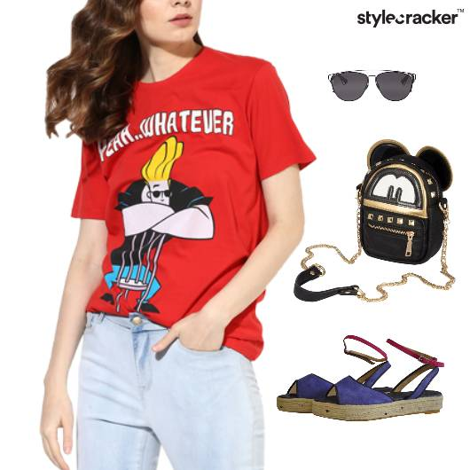 Casual TShirt Weekend SlingBag Movie - StyleCracker