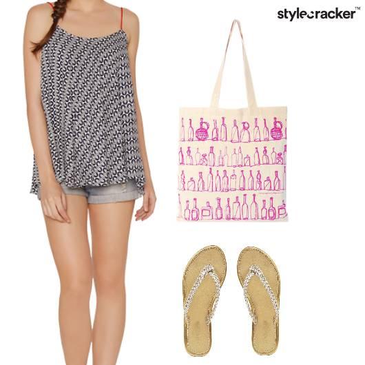 SlipTop Shorts Weekend Casual - StyleCracker