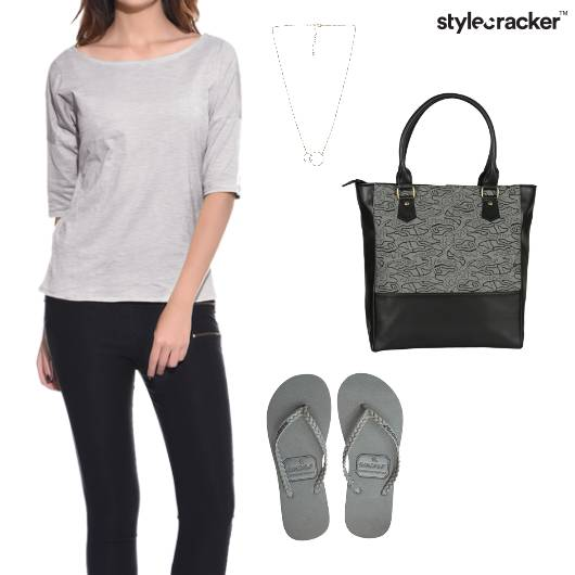 Casual Top Bottom College Casual  - StyleCracker