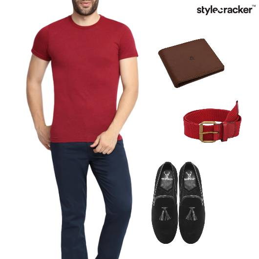 Casual Tshirt Chinos Weekend Party - StyleCracker