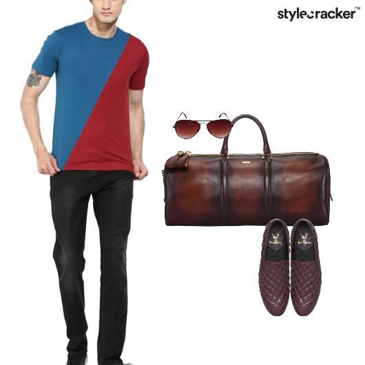 Casual Travel Duffel Slipones   - StyleCracker