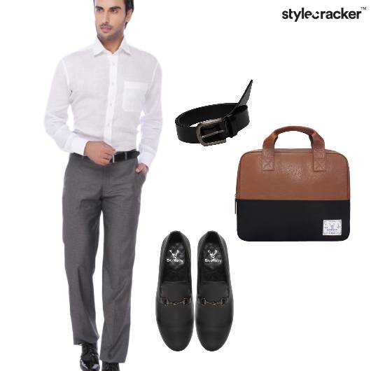 Formal Office Work Grey - StyleCracker