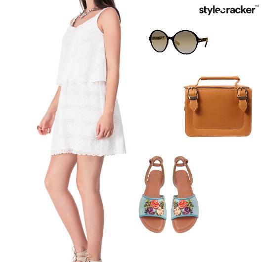 Layered Dress Casual Sunday Brunch - StyleCracker