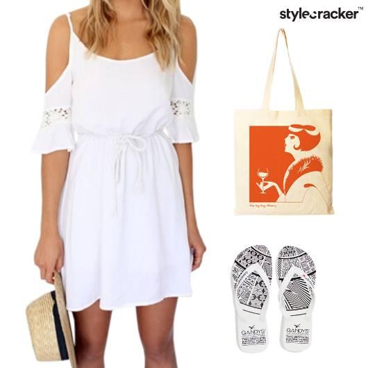 ColdShoulder Dress Weekend Getaway - StyleCracker