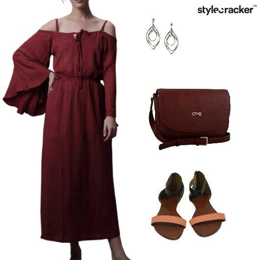 ColdShoulder Midn Dress Weekend - StyleCracker