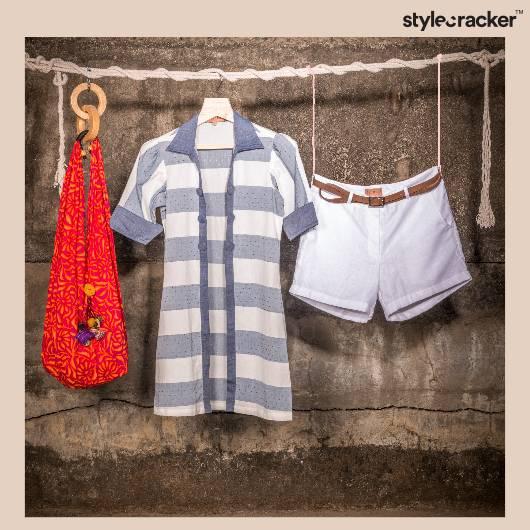 Ethnic Casual Stripes Jhola  - StyleCracker