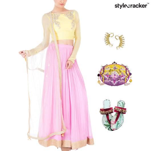 Festivals Earcuff Pastels Pearls  - StyleCracker