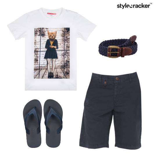 Casual Tshirt Shorts Basics - StyleCracker