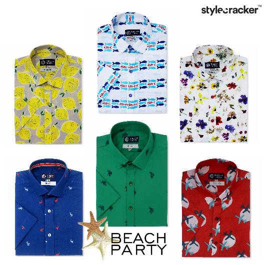 Prints Nature Motifs Conventional Beachparty - StyleCracker