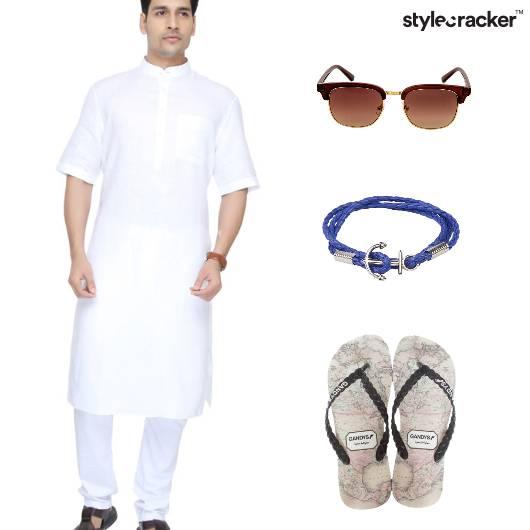 Ethnic Festive Kurta Bracelets  - StyleCracker