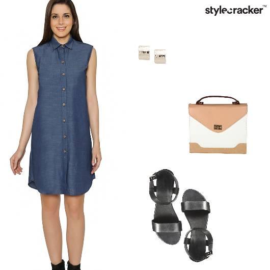 Formal ShirtDress BoxBag - StyleCracker