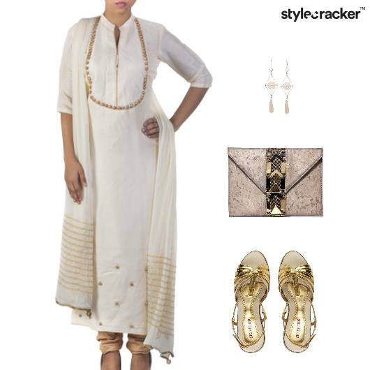 Indian Festive Clutch Ethnic Accessories - StyleCracker