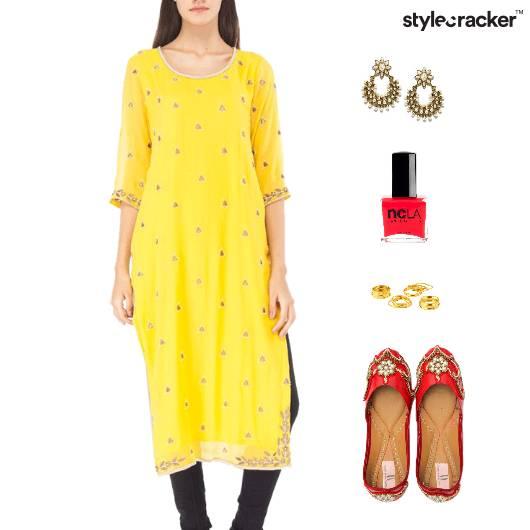 Indian Festive Kurti Jhutis Accessories - StyleCracker