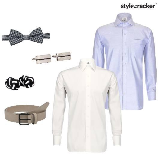 Shirts BowTie Formal  - StyleCracker