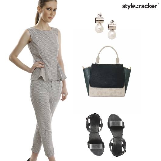 Trousers StructuredBag Formal Minimal  - StyleCracker