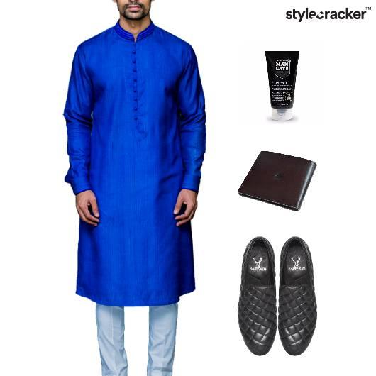 Indian Kurta Pyjama SlipOn Footwear Event - StyleCracker