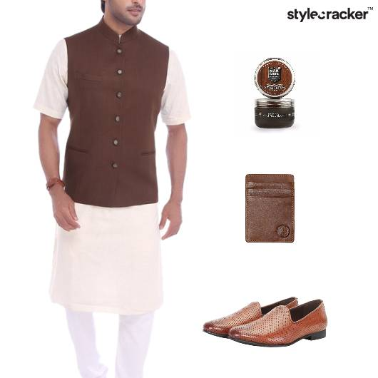 Indian Kurta SlipOn Footwear Grooming - StyleCracker