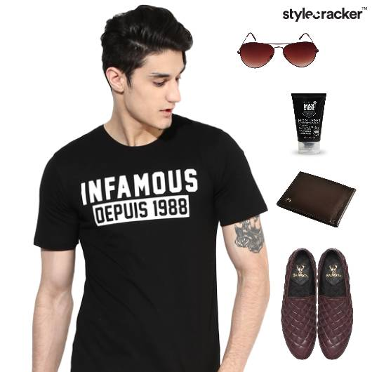 Graphic TShirt SlipOn Footwear Lunch - StyleCracker