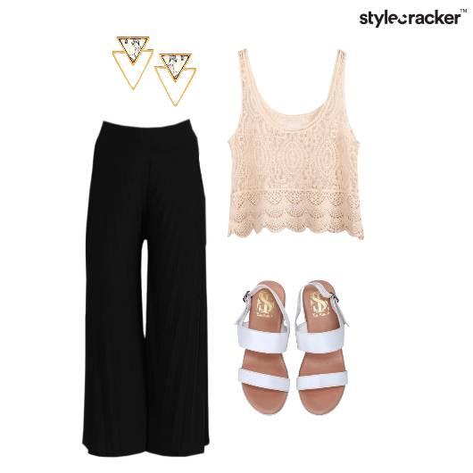 Plazzo Casual Chic Earrings - StyleCracker