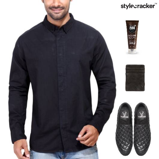 Shirt SlipOn Footwear Lunch Grooming - StyleCracker
