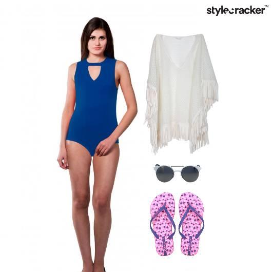 BeachWear Chic Slippers Sunglasses - StyleCracker