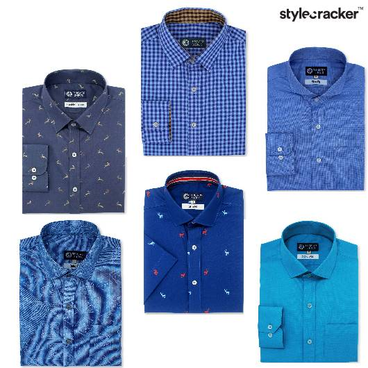 Blue Shirt Collection - StyleCracker