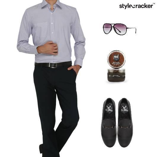 Shirt SlipOn Footwear Office Work - StyleCracker