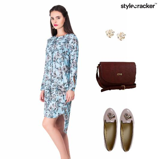 Floral Dress Casual Brunch - StyleCracker